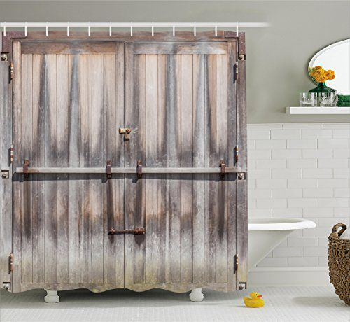Bathroom Curtain Ideas Diy: 17 Best Ideas About Rustic Shower Curtains On Pinterest