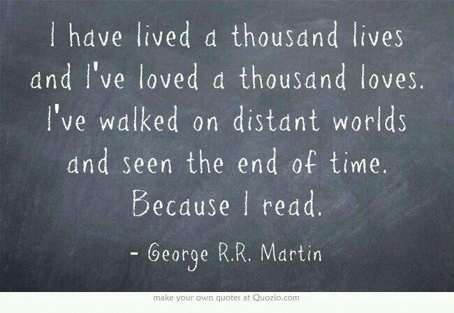 Man sieht die Welt so anders, wenn man liest