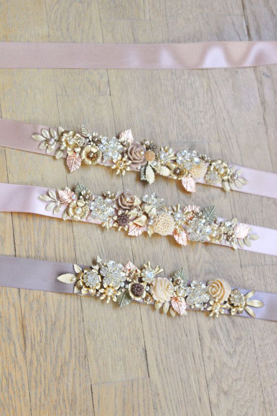79 Best Images About Bridal Belt Sash On Pinterest