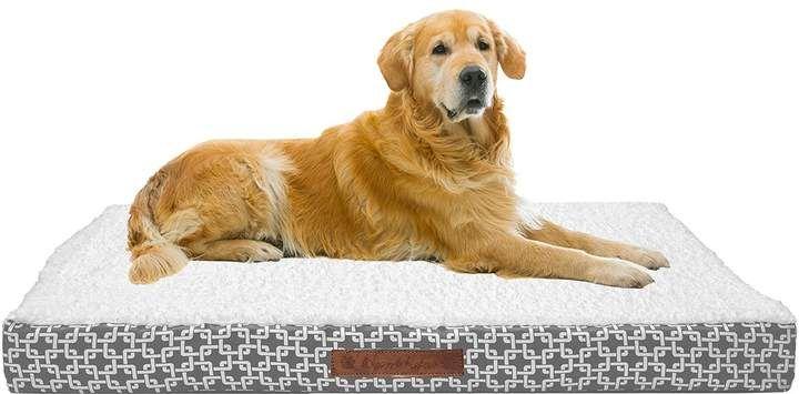 Duck River Textile Grey Dalton Chain Gate X Large Large Pet Bed