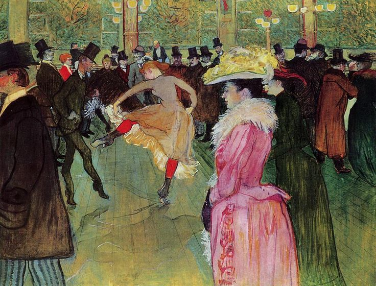 Dance at the Moulin Rouge - Toulouse Lautrec