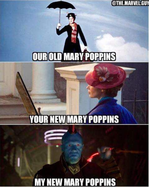 Absolutely. He's Mary Poppins, y'all.