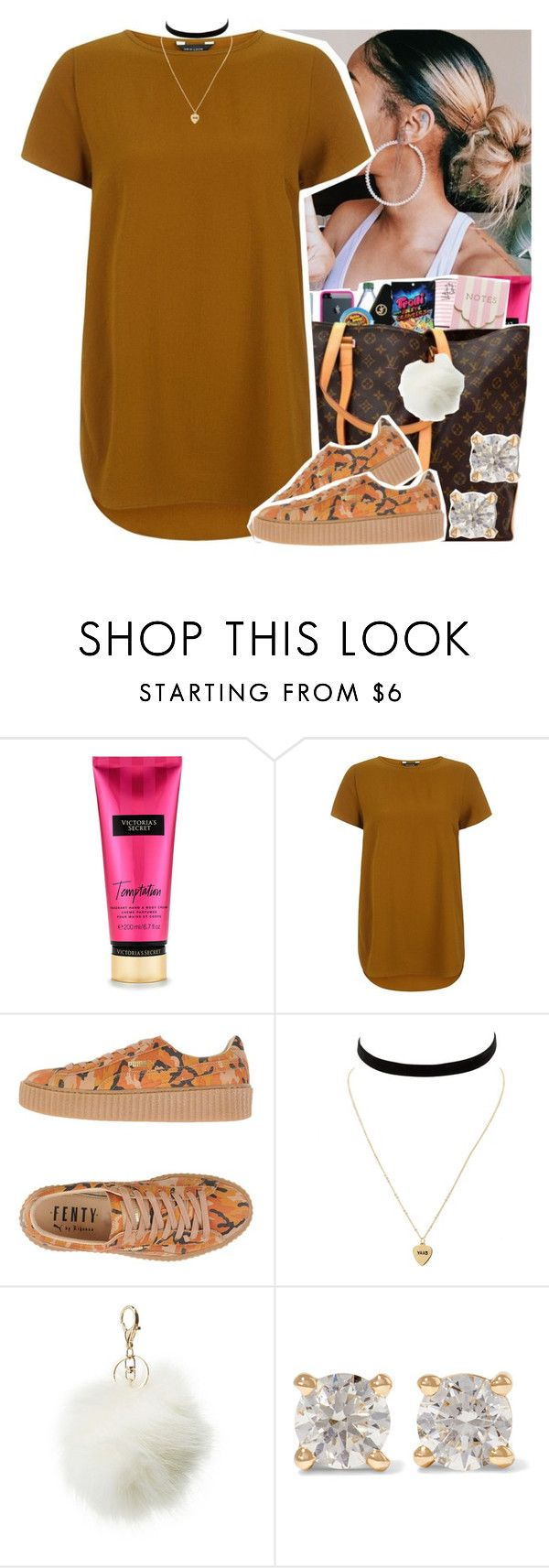 """""""Untitled #440"""" by theylovinniaaa ❤ liked on Polyvore featuring Puma, Charlotte Russe and Anita Ko"""