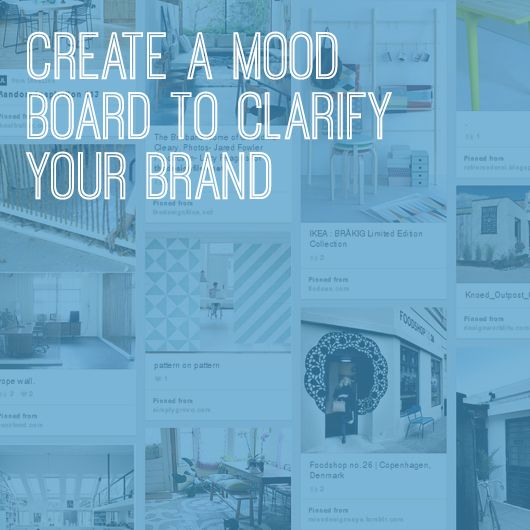 Crete a Mood Board to Clarify Your Brand by Susan Goodwin for Creative Women's Circle