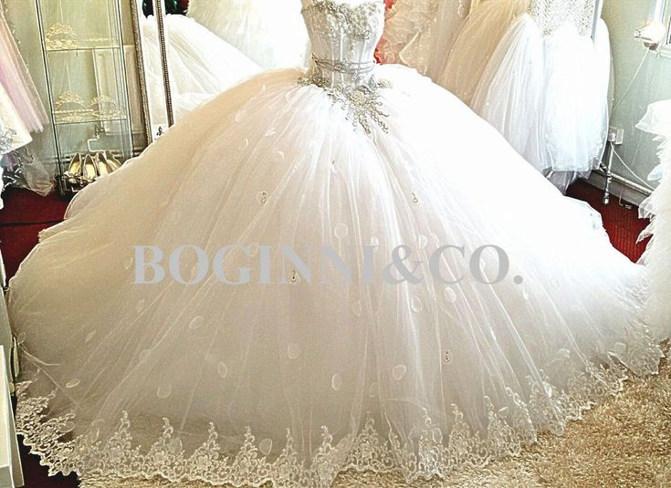100+ Really Big Wedding Dresses - Dress for Country Wedding Guest Check more at http://www.dust-war.com/really-big-wedding-dresses/
