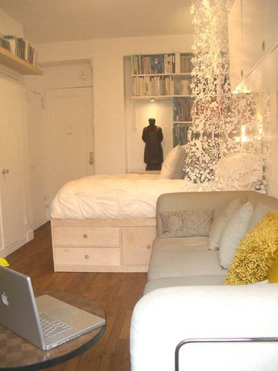 Smart use of a small space.