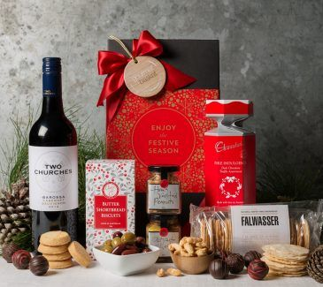 Christmas Gift Hampers from Gourmet Basket. Corporate Christmas Gift Hamper. Corporate hamper delivery. Christmas hamper delivery.