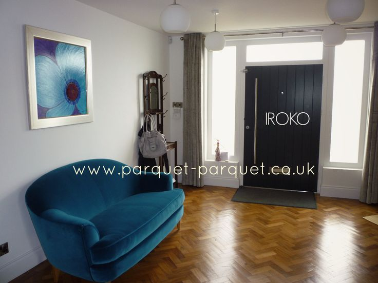 IROKO – Reclaimed parquet