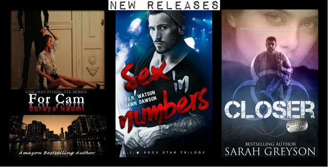 New Releases from Soraya Naomi, S.R. Watson & Shawn Dawson, and Sarah Greyson