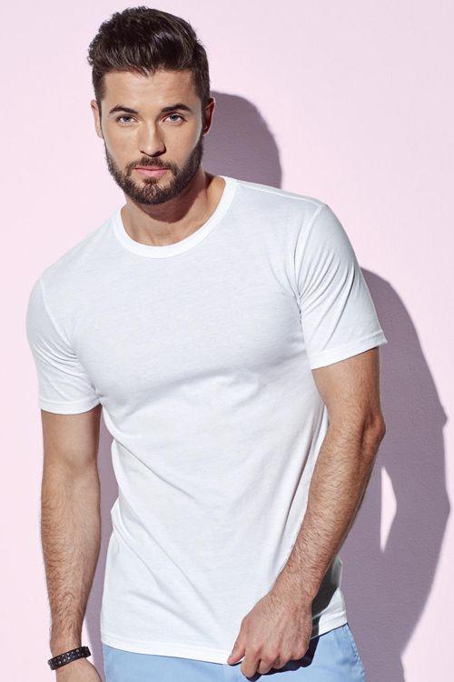 Tricou de bărbați Morgan Stedman din 100% bumbac ring spun #personalizare #tricouri #stedman #imprimare