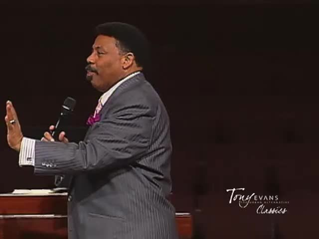 "Tony Evans ""Elohim, the all powerful Creator!"""