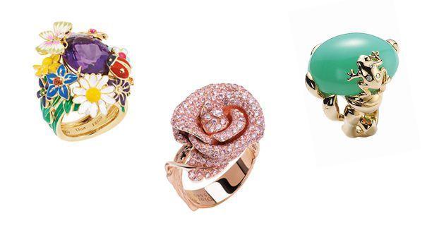 Pour la maison Dior, l'exubérante aristocrate a cassé les codes du bijou bourgeois, inventant une joaillerie hors normes, colorée et fantaisiste.