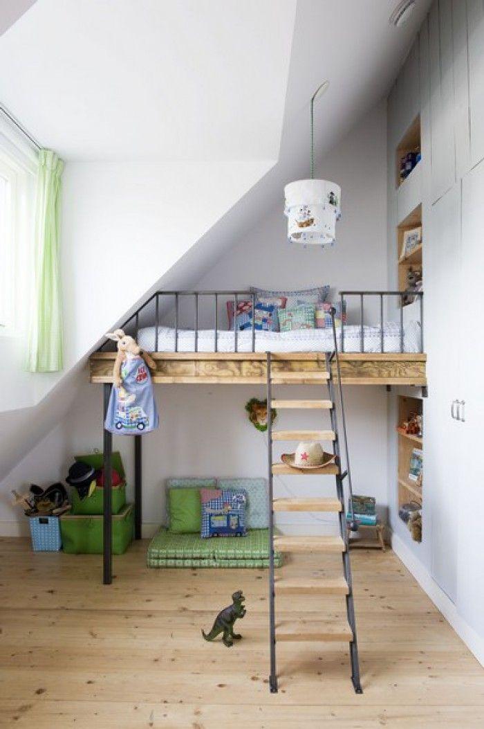 Wat te doen met een beperkte ruimte / schuin dak ? Dit is bij ons een vaak gestelde vraag. Ga maar eens