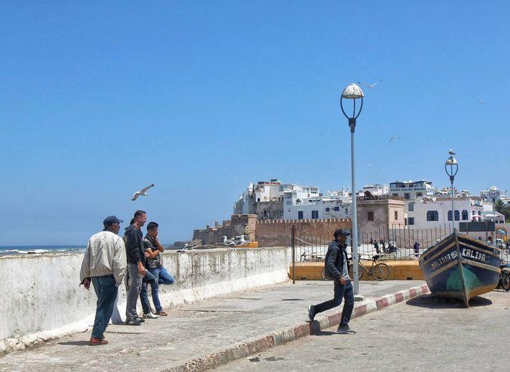 Essaouira at a rare non-windy moment