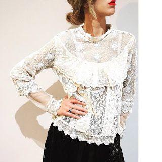 Bulla Carpaneto #top #lace #vintage #vintagestyle #fashionblogger #aniyeby #bullacarpaneto #shoponline