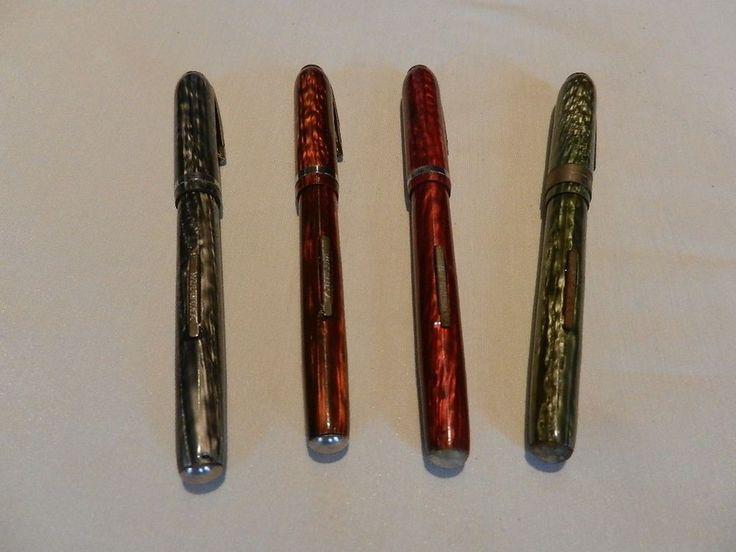 Vintage Arnold Pen Company Fountain Pen Four Pen Gift Set  #ArnoldPenCompany