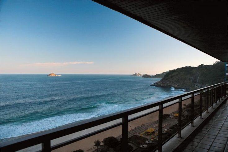 Vista do apartamento de Gilberto Gil. #saoconrado #praia #riodejaneiro