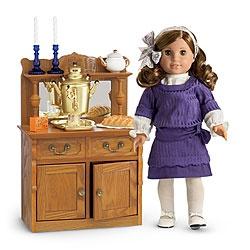 American Girl Doll Rebecca's Hanukkah Set
