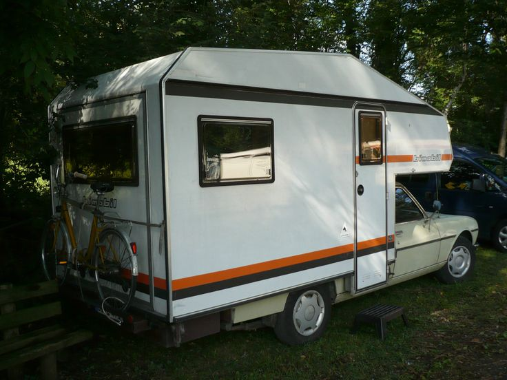 peugeot 504 camping car cellule bimobil selleries camping cars motorhome some realized and. Black Bedroom Furniture Sets. Home Design Ideas