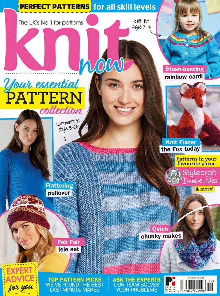 Knit Now №82 2018 - 轻描淡写 - 轻描淡写