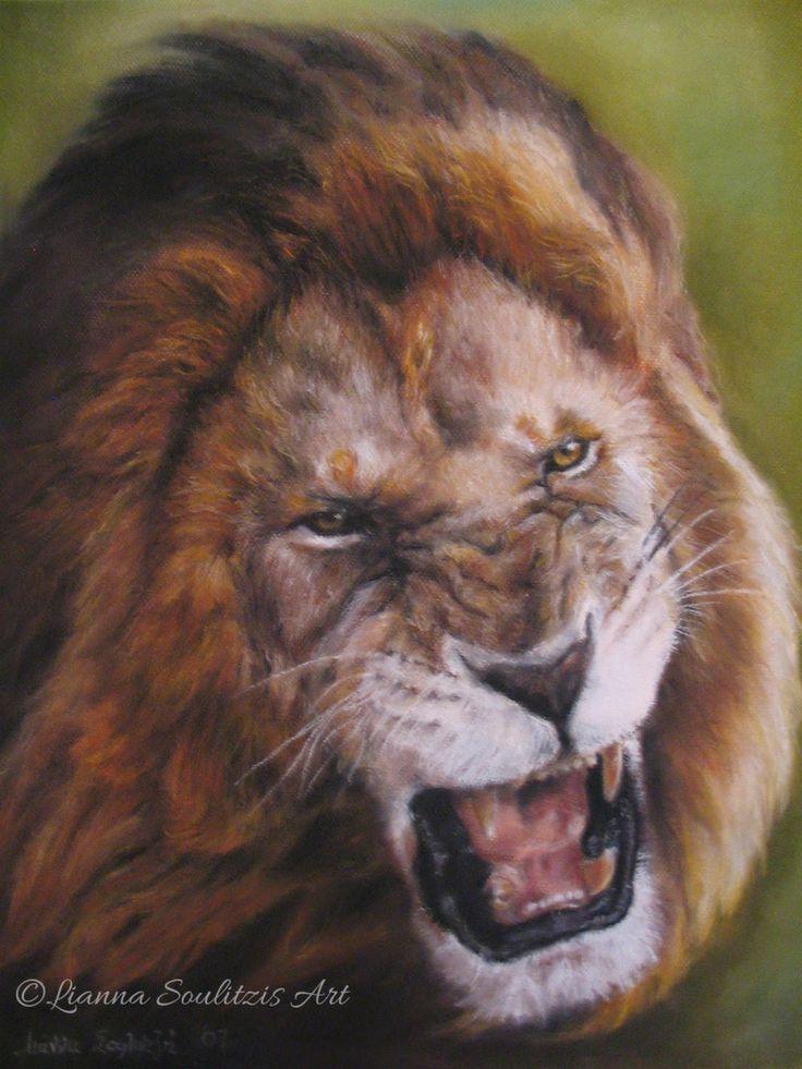 Lianna Soulitzis Art: The Roaring Lion 2007