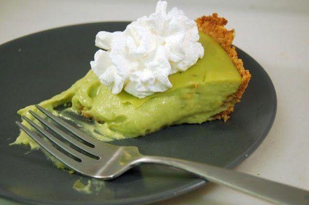 Оригинальный пирог с авокадо.