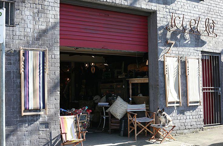 ICI ET LA   French furniture + fabric