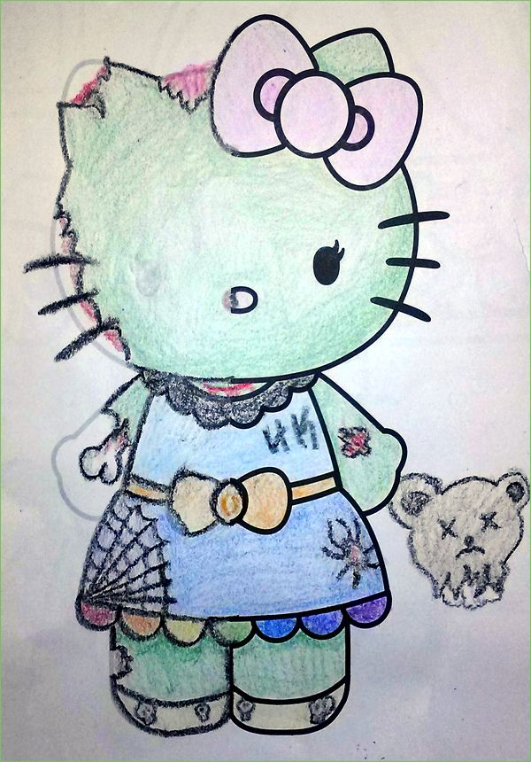 Guest Post Corpse Kitty Still Pretty Adorable Reddit User Patrick A Coloring BooksKittyVintage