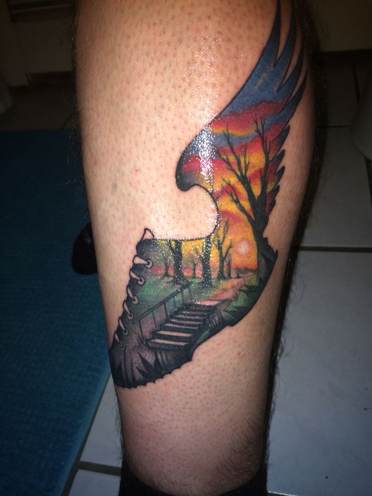 1000 ideas about running tattoos on pinterest marathon for Half marathon tattoos