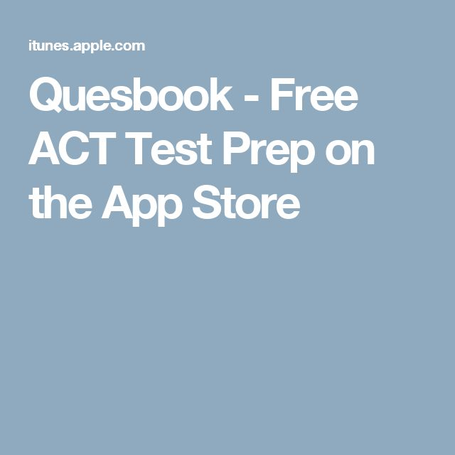 Quesbook - Free ACT Test Prep on the App Store
