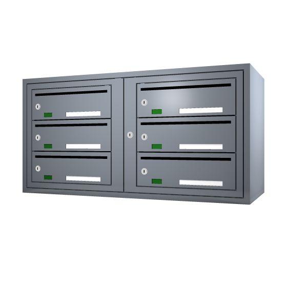 Svenskboxen 2x3  Article number:   SVB23-9995-1000    En komplett postbox med marknadens högsta säkerhetsklass. Svensk-boxen är förberedd för ellåsinstallation som standard och uppfyller användbarhetskraven från Bygg klokt för personer med funktions-nedsättningar.        Svenskboxen är den enda postboxen på marknaden som erhållit den högsta säkerhetsklassen (säkerhetsklass II) vilket innebär att den motstår inbrottsförsök bäst av alla boxar.