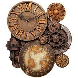 Gears of Time Wall Clock | GeekAlerts