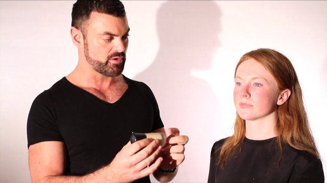 Perfect Face Ep 2 - Foundation & Concealing #frockadvisor #SonyaLennon #BrendanCourtney #DerrickCarberry #Makeup #PerfectWinterFace #Foundation #Concealing #AW13