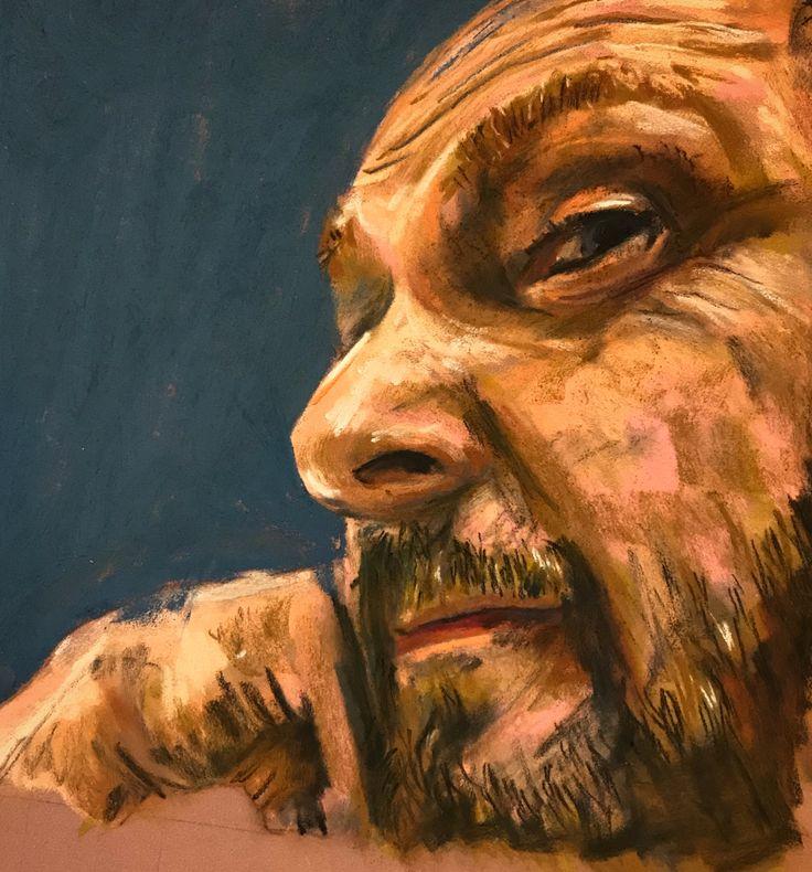 Self Portrait - Unison Pastels