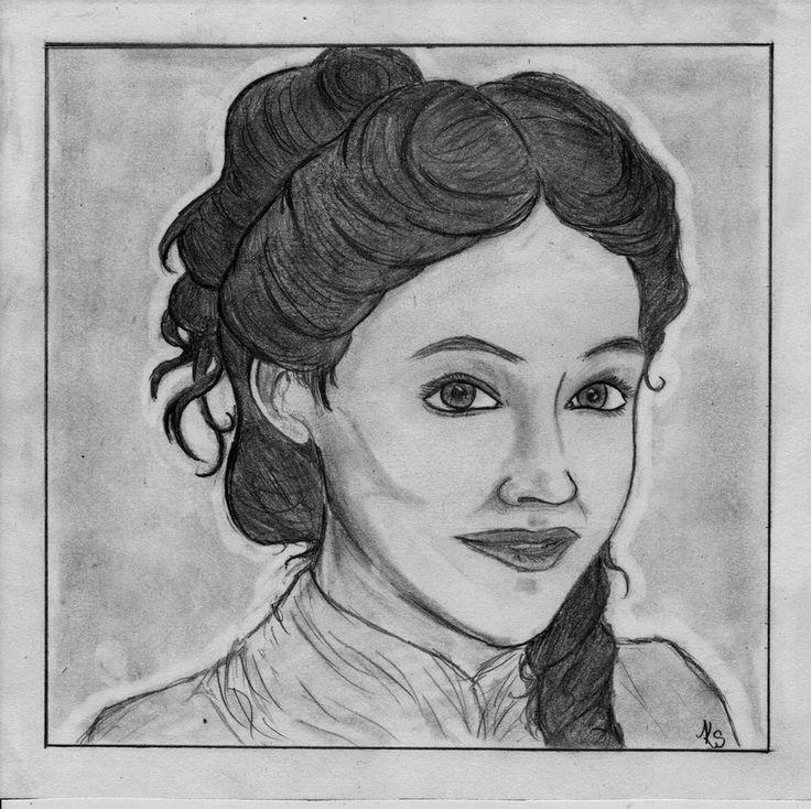 Romola Garai by TwinkleGotMad, Angelica Deverell, drawing http://RomolaGarai.org