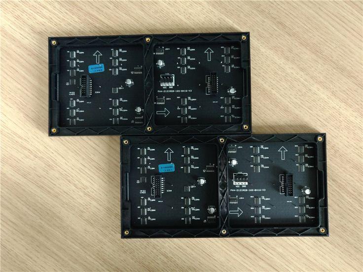 2pcs/lot pixel 64x32 module size 256x128mm p4 indoor full color 1/16scan led display module #Affiliate