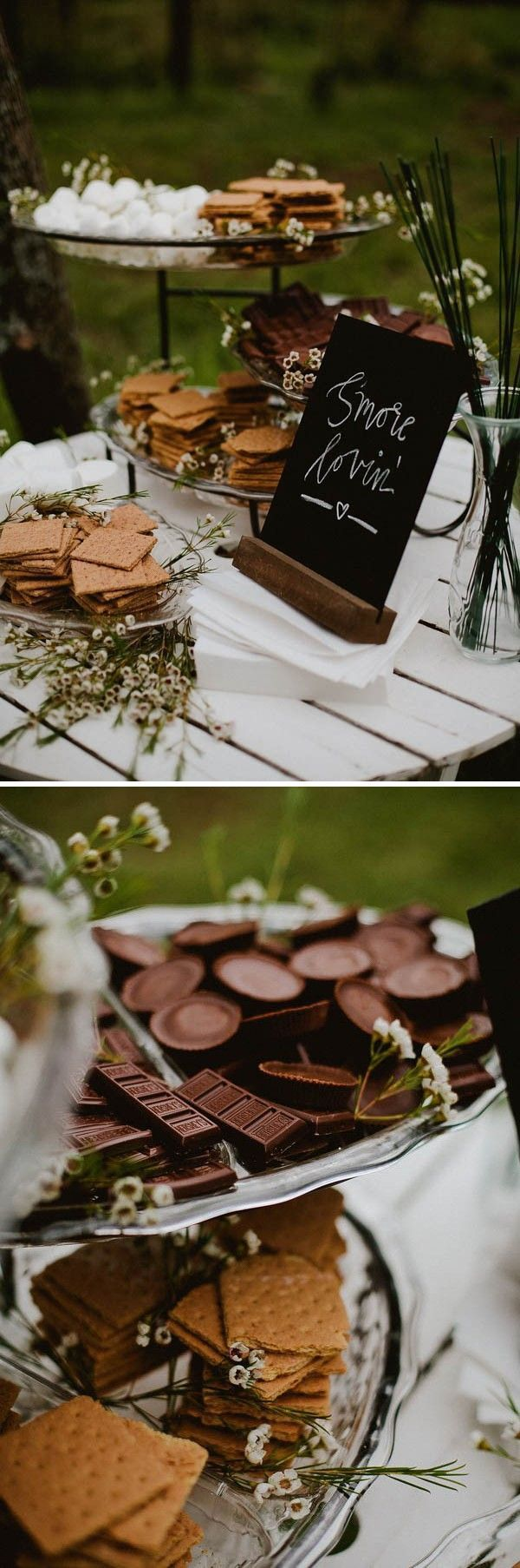 + We couldn't help but notice that all of our favorite receptions had one thing in common: fabulously designed dessert displays! From cake tables overflowi