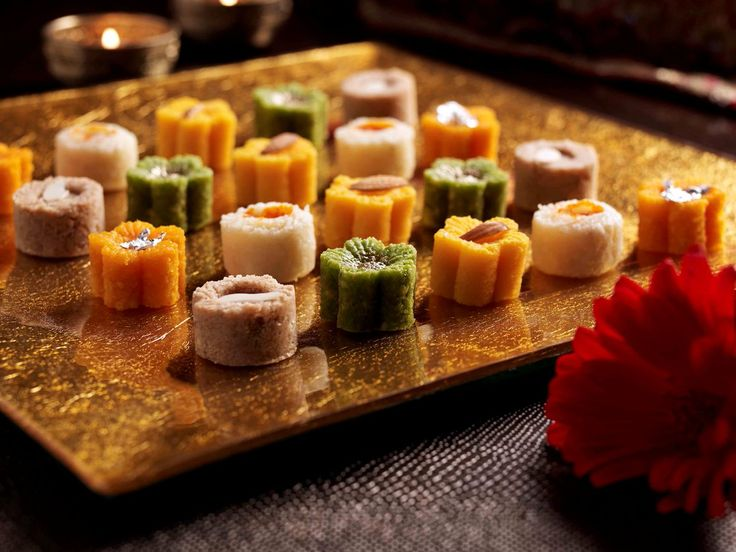 """An assortment of delicious #sweets arranged on a #beautiful platter tell us that it is """"Shaadi time""""! via http://simplyfabulicious.blogspot.com  #wedding"""