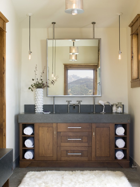 Really like this vanity. I'm thinking single sink as I'm not sure how much use we would get out of a double. CH