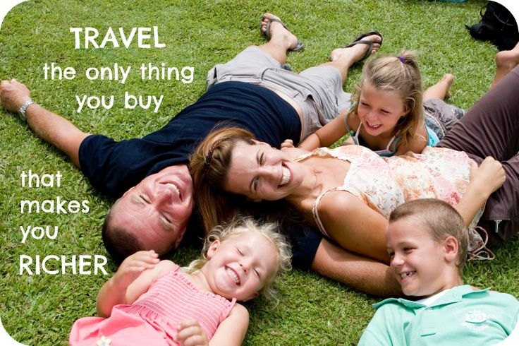 Travel. The only thing you buy that makes you richer.  www.adventurewhitsunday.com.au