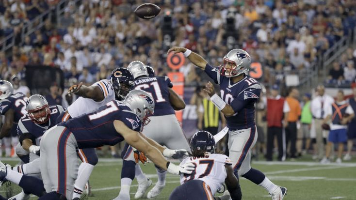 Here's how Jimmy Garoppolo played in Patriots' preseason game against Bears