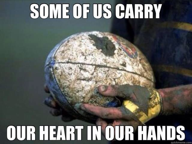 Rugby quote.