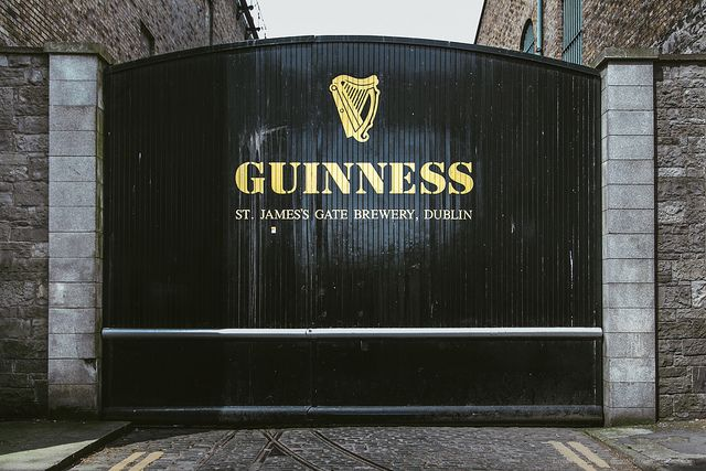 Guiness gate, Dublin, Ireland-Guinness factory was AMAZING!!!