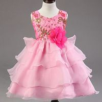 2015 Baby Clothes Kids Girl baby Dress Rose Baby Girl Princess .