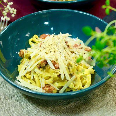 "Tommys ""dagen efter""-pasta med salsiccia - Recept - Stowr"