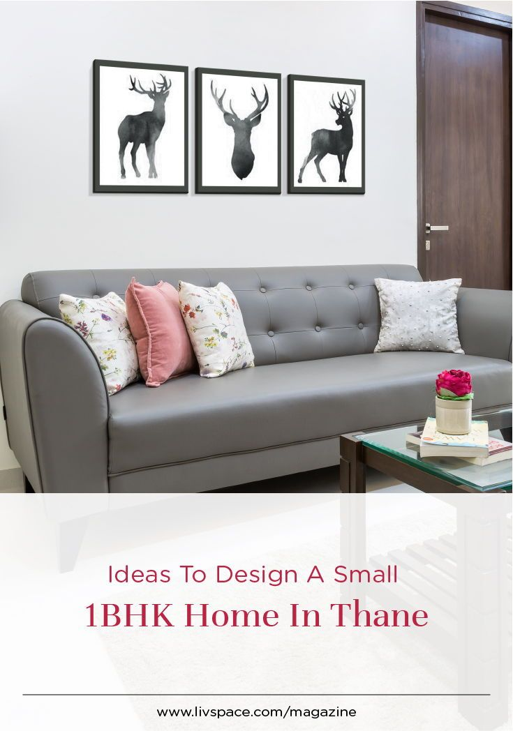 Step Into A Simple Budget Home At Lodha Splendora Flat Interior Design Small Flat Interior Decorating Small Spaces