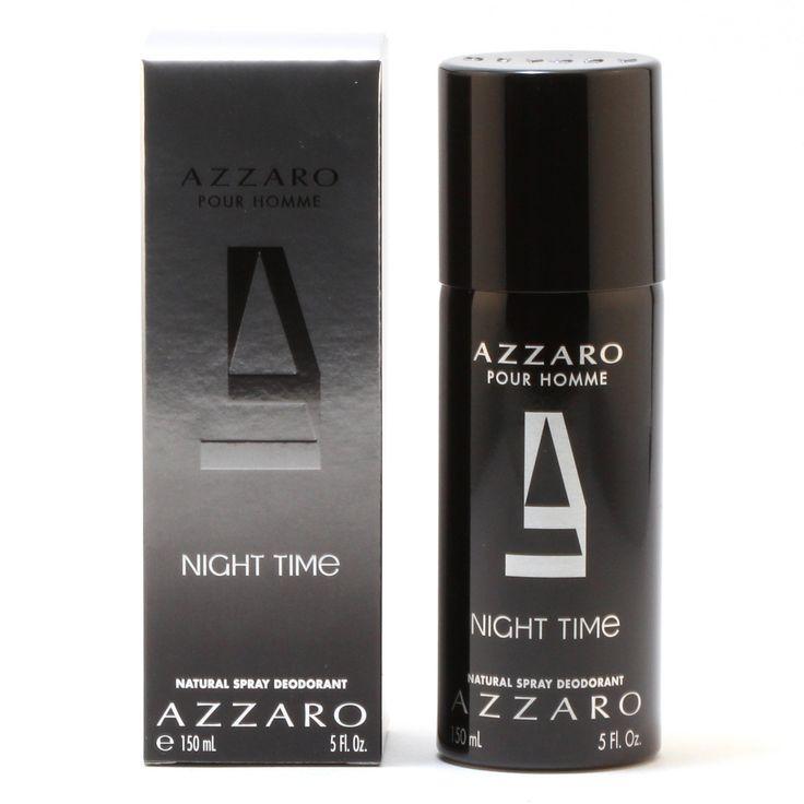 AZZARO NIGHT TIME MENS DEODORANT SPRAY