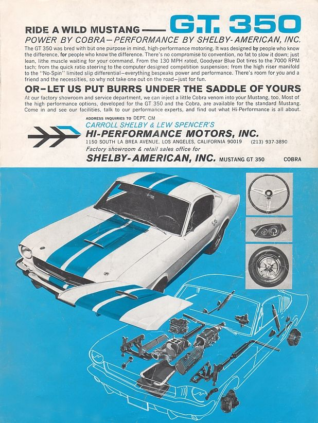 Mustang GT350 Ad Car Life Mustang Guide.