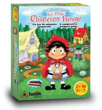 Le Petit Chaperon rouge est un jeu de mémoire où les surprises ajoutent au plaisir!Tu dois former des paires de provision pour faire avancer le Petit Chaperon rouge sur le chemin de la maison de Mère-Grand.Prends garde au loup! Seul le chasseur peut l'empêcher d'arriver chez Mère-Grand avant toi.