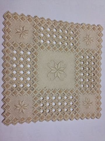 Stitching by a Cornish Seashore: Hardanger More